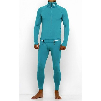 Pánska Kombinéza One Piece Suit Mint Green (503)