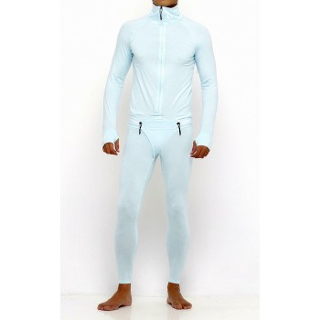 Pánska Kombinéza One Piece Suit  Ice Blue (503)