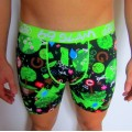 Pánske boxerky FIT Save the Forest Black (121)